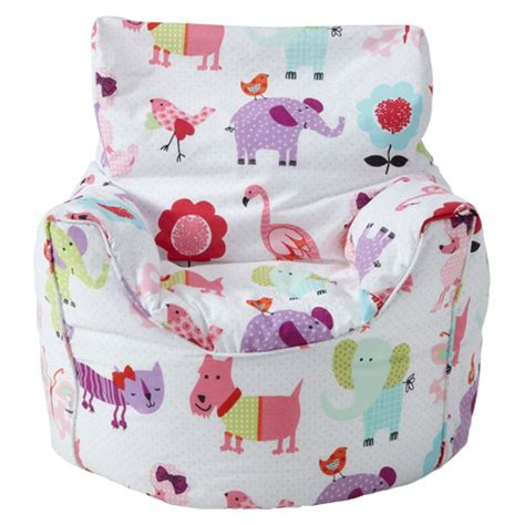 childrens character filled beanbag bean bag chair