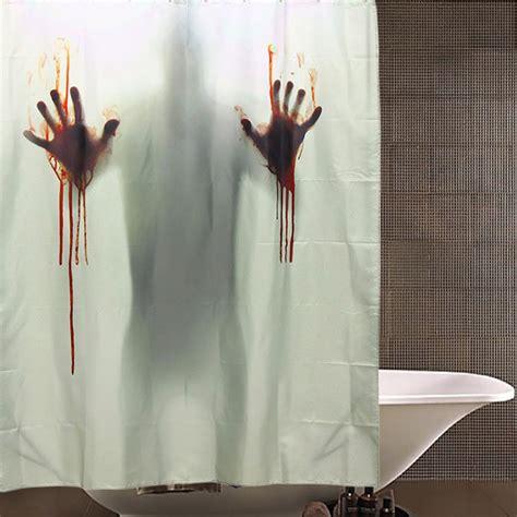 Blood Bath Shower Curtain o dia das bruxas banho de sangue horror decora 231 227 o de