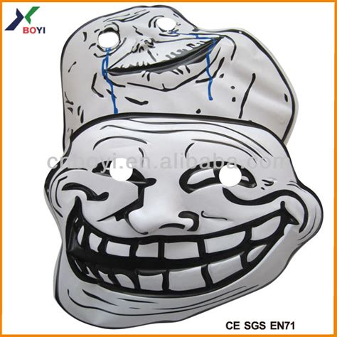 custom hot selling carnival pvc meme party face mask buy