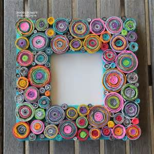 Paper Projects To Make - make rolled paper picture frames 187 dollar store crafts