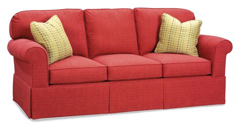 accent l company fairfield sofa accents stationary sofa with rounded back