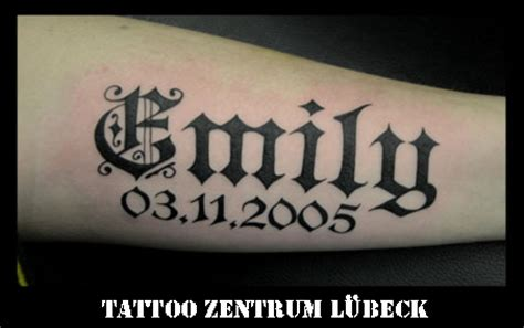 lettering gallery tattoo zentrum l 252 beck