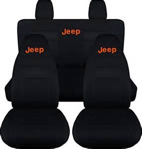 Seat Covers Jk Jeep Wrangler Jk 2011 To 2015 Black Seat Covers With