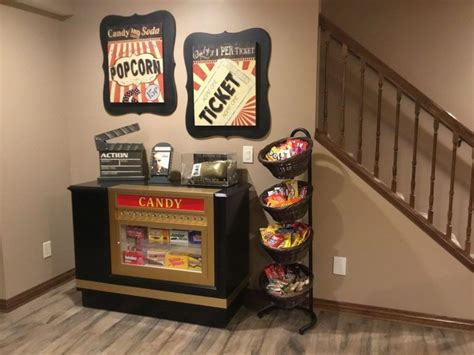 diy concessionpopcorn machine stand popcorn machines