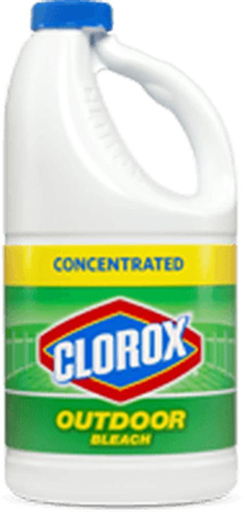 clean decks clorox