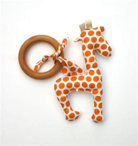 The Giraffe Cool Gel Teething Ring 1 giraffe organic wood teething ring with organic cotton clutch eco friendly teether all