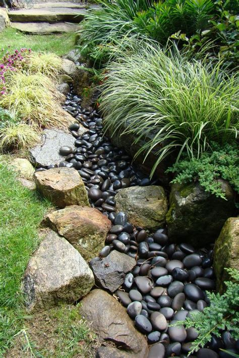 diy backyard stream diy dry creek beds the garden glove