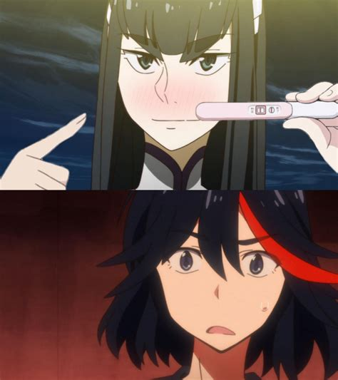 Pregnancy Announcement Meme - also found on r killlakill pregnancy announcement