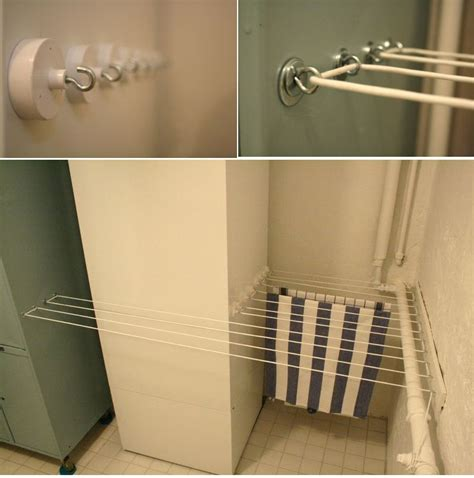 Bathroom Designs Ideas For Small Spaces practical laundry rack designs that don t stand out