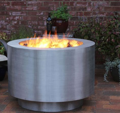 steel firepit 1000 ideas about stainless steel pit on