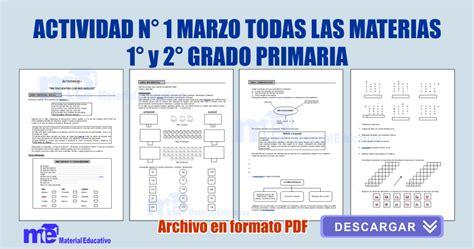 registro auxiliar 2do grado de primaria 2016 actividad n 176 1 marzo todas las materias 1 176 y 2 176 grado primaria