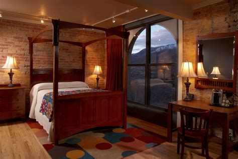 hotels with in room colorado the hotel denver an iconic landmark in downtown glenwood springs colo celebrates 100th birthday