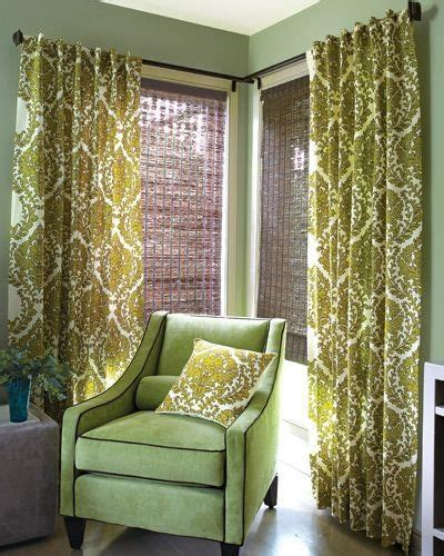 corner window curtain ideas l shaped curtain rod for corner window curtain