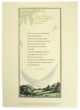 Lying In A Hammock Wright indulgence press prints