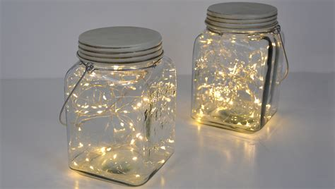 Nine Ideas How To Welcome The Christmas Spirit Interior Jars With Lights