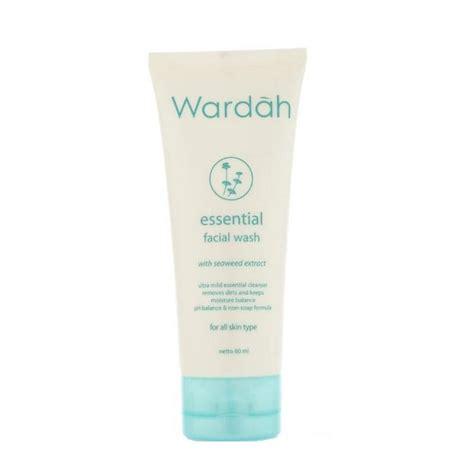 Wardah Essential Wash supplier perawatan kecantikan