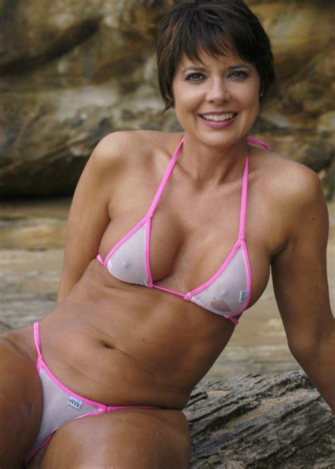 wives in hot swim suits hot bikini milf mature women pinterest swimwear