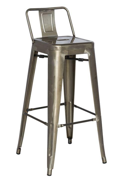 steel bar stool chintaly 8030 bs gun gun metal cold roll steel bar stool
