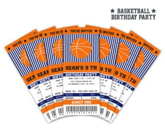 printable basketball ticket template basketball ticket etsy