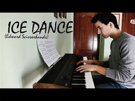 danny elfman ice dance ice dance danny elfman piano cover sheet youtube