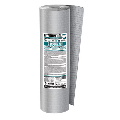 shop titanium 1 000 sq ft roof underlayment at lowes com