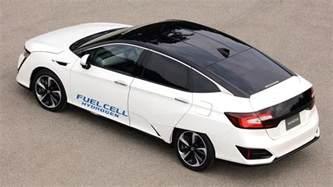 new fuel for cars honda s new hydrogen powered vehicle feels more like a