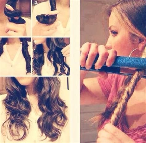 how to curl your hair fast with a wand how to make beach waves hair beauty pinterest