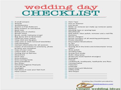 Wedding Guide Checklist Free by The Real Reason Planning A Destination Wedding