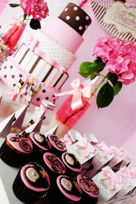 Pink And Brown Decorations by Kara S Ideas Pink Brown Princess Birthday Planning Ideas Decorations