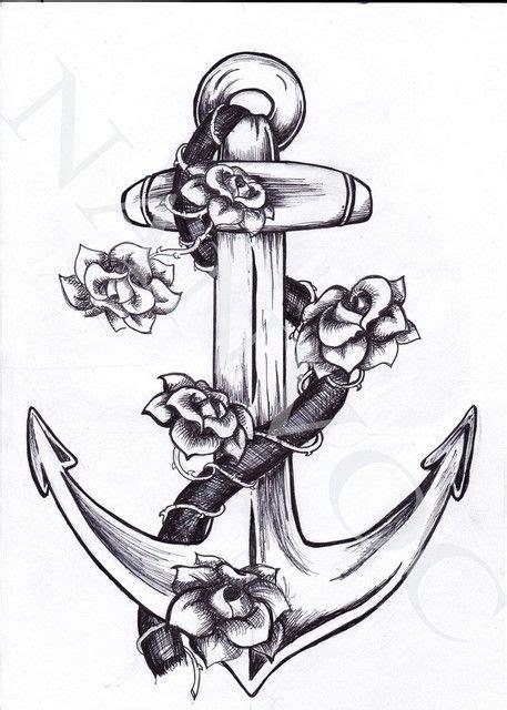 anchor cross tattoo designs best 25 navy anchor tattoos ideas on