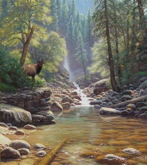 bob ross painting wildlife 145 best images about paesaggi dipinti on
