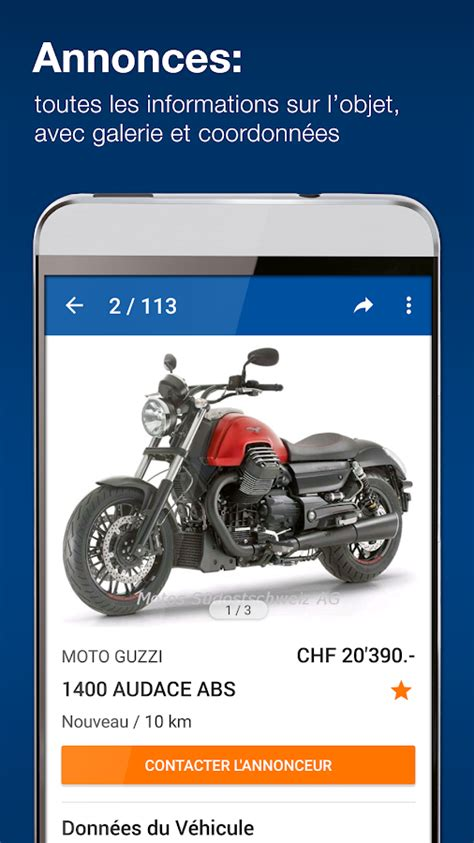 Motoscout24 D by Motoscout24 Suisse Applications Android Sur Play