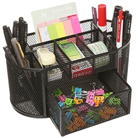 office desk organiser mocreo 174 9 in 1 multi functiona desk tidy mesh desk