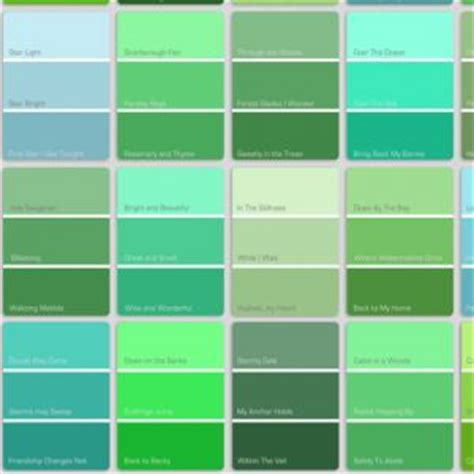 blue green color names green color names color mix colors green