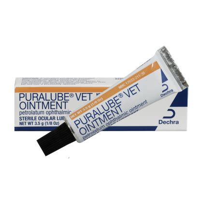 eye ointment for dogs puralube vet ointment eye lubricant for dogs and cats 1800petmeds