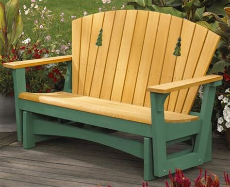 Patio Glider Chair Plans by Easy Glider Woodworking Plan Outdoor Outdoor Furniture