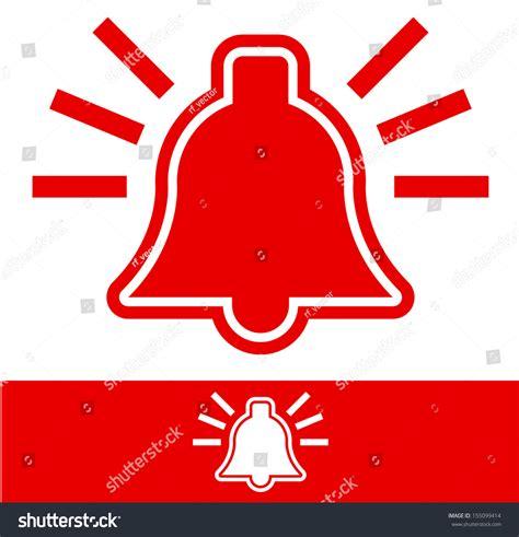 Alarm Vector alarm bell stock vector 155099414