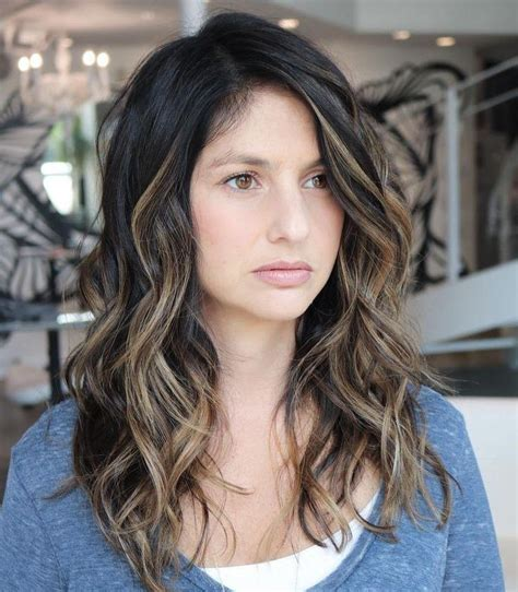 what hairstyle increases thickness 15 best of long haircuts for thick wavy hair