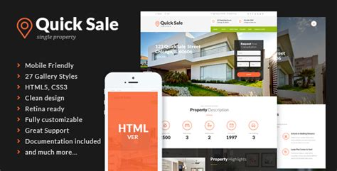 html themes for sale quick sale real estate html theme theme for u