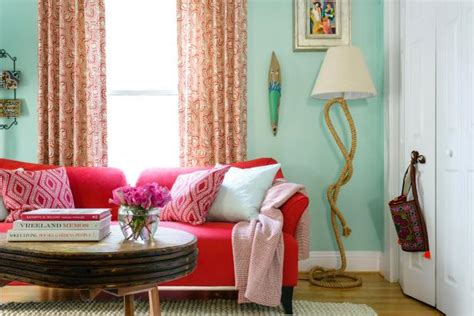 colorful multipurpose living space hgtv