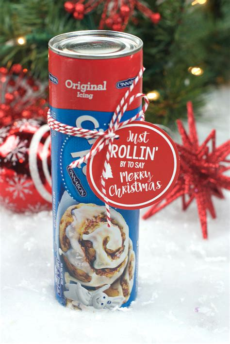 christmas gifts for neighbours punny gift idea cinnamon rolls squared