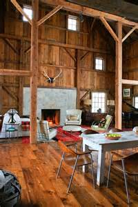 barn home interiors modern michigan barn house conversion with rustic interiors idesignarch interior design