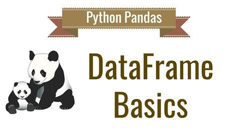 Pandas Tutorial Github   python pandas tutorial 2 dataframe basics youtube