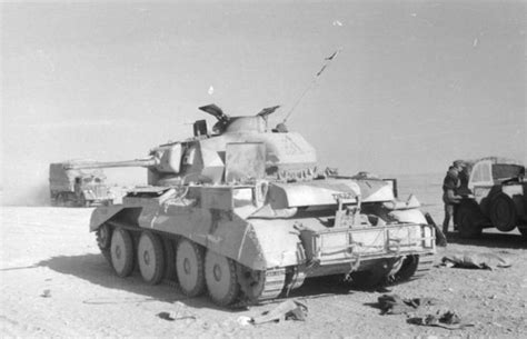 Bé Vs Tunisia Captured Cruiser Iii Or Iv By The Afrika