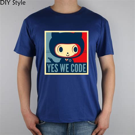T Shirt And It Code A70002 the octodex github baracktocat yes we code t shirt top