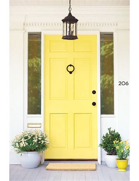 canary yellow front doors popular paint colors popsugar home photo 13
