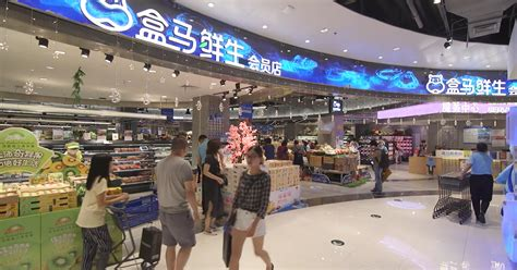 alibaba store china s hema market has two advantages over amazon go