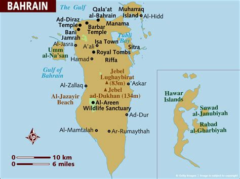 bahrain map with cities map of bahrain places i ve been uae