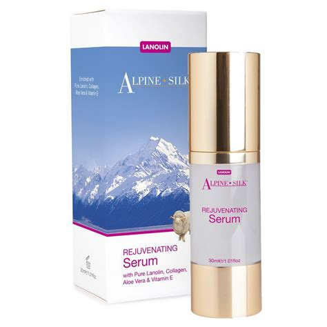 Serum Collagen Plus Vit E alpine silk lanolin rejuvenating serum collagen
