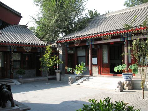 chinese house chinese courtyard housing under socialist market economy